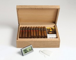 humidor for 50 cigars abbocador fossil wood