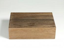 humidor per sigari in legno fossile modello 2 tempo