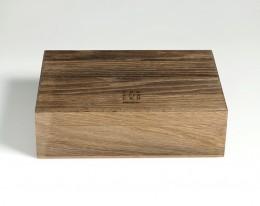 humidor per sigari in legno fossile modello 4 materia