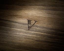 humidor per sigari in legno fossile modello 5 luce